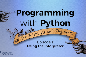 Programming with Python for Scientists and Engineers image