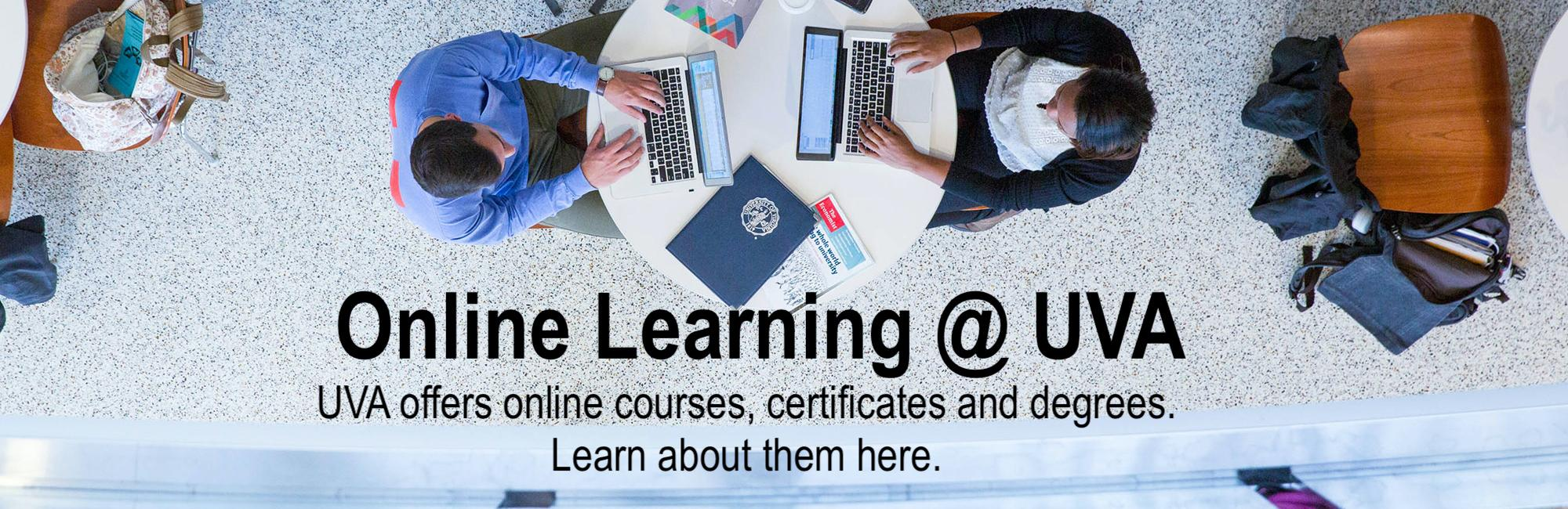 Find online courses, certificates and degrees here.